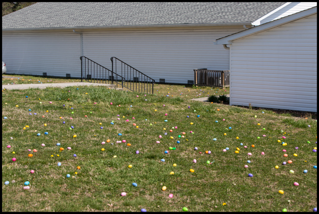 Our last Easter Egg Hunt at 507 Cedar Lane. What a great time for all the kids (and adults).
